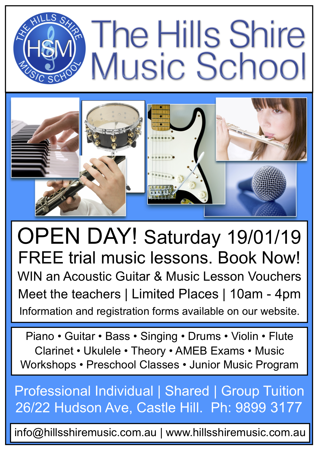 HSM - Open Day, 2019